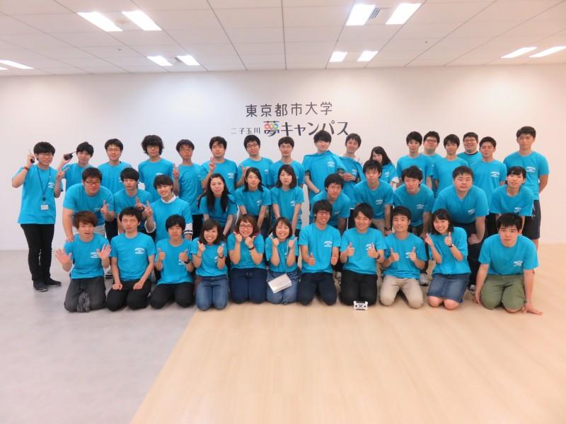 二子玉川ライズで都市大生主催「夢祭」を開催しました!
