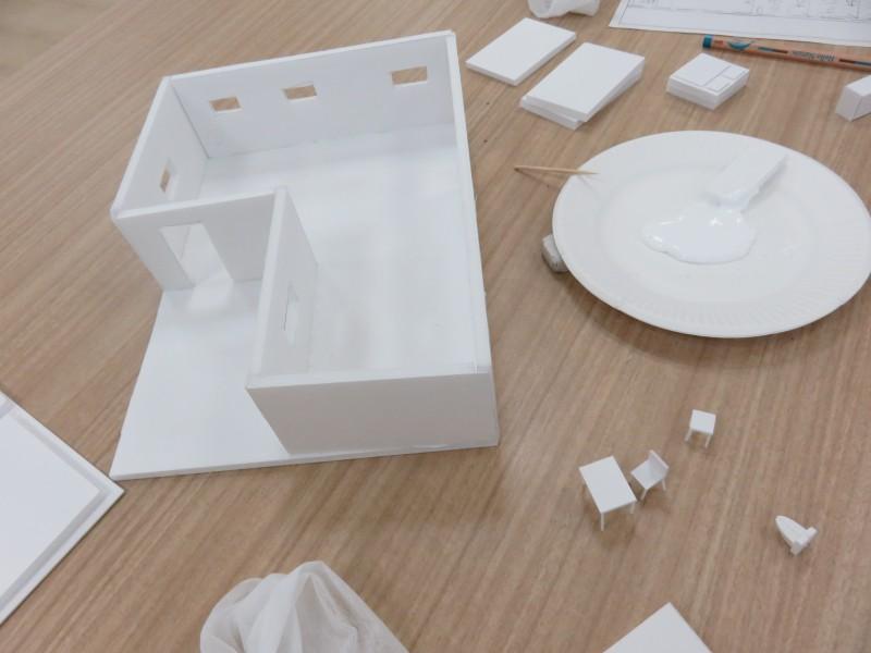「いえ」の模型を作ろう~建物ができるまでを学ぶ を夢キャンコミュニケーターが開催しました