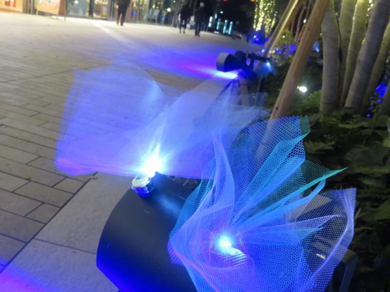 花筏ワークショップ~二子玉川ライズを「光る花」でうめつくそう!!(12/4~6)