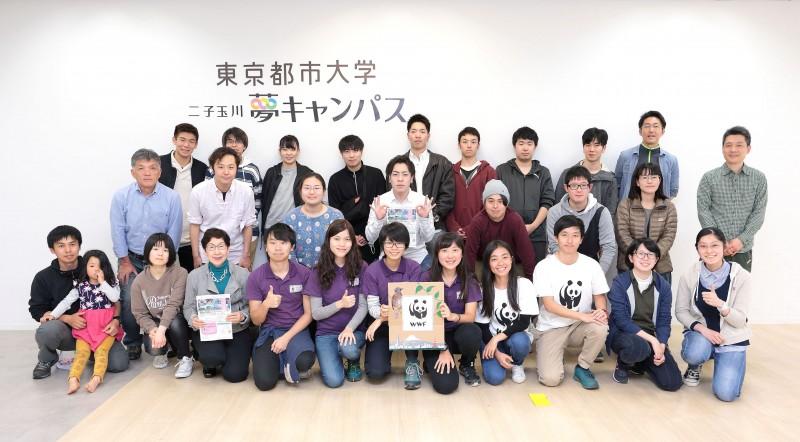 「City Nature Challenge 2019-TOKYO」イベントが夢キャンパスで開催されました