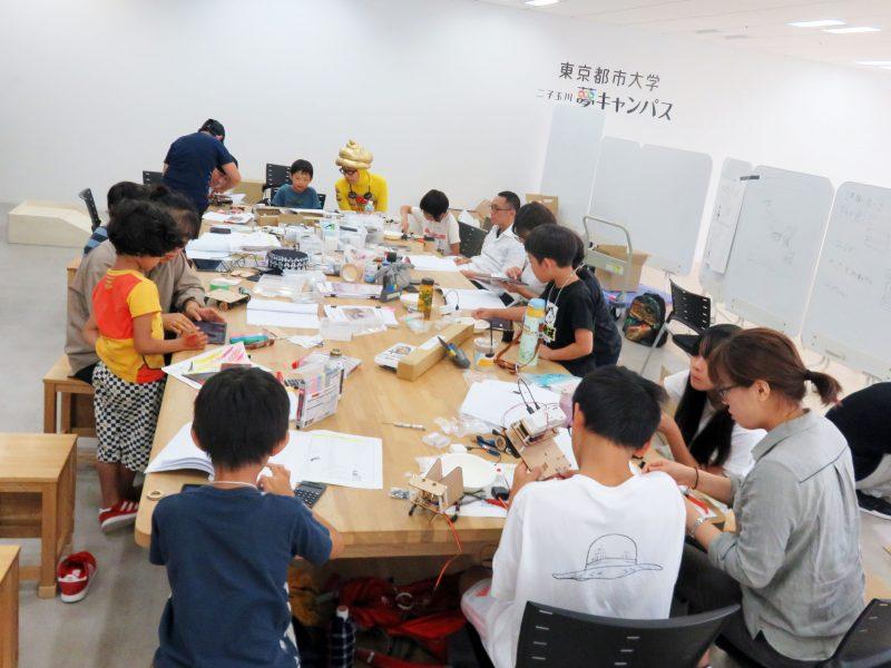 東京都市大学×世田谷VIVITA ROBOCONチャレンジプロジェクト